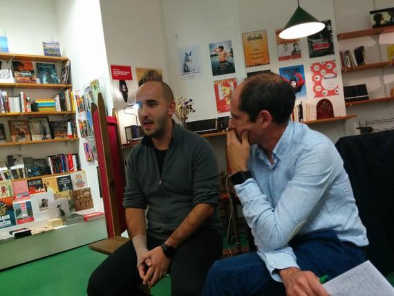 Borja Ventura y Paul Ríos