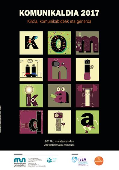 Komunikaldia 2017: Kirola, komunikabideak eta generoa (maiatzaren 4an)