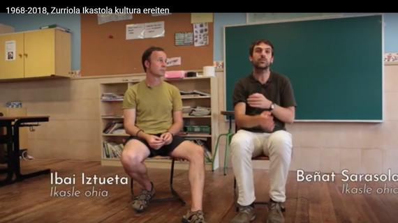 Donostiako Zurriola ikastola eta kultura transmisioa, dokumental batean