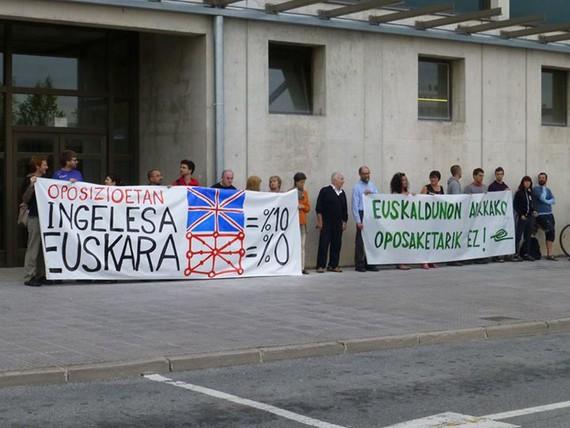Oposizioak Nafarroan: Ingelesak %10; euskarak %0