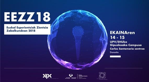 Euskal Esperientziak Zientzia Zabalkundean jardunaldia ekainaren 14 eta 15ean
