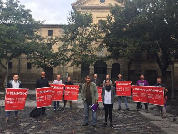 Behingoz euskara Nafarroa osoan ofiziala izatea eskatuko da urriaren 27ko mobilizazioan
