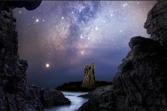 Ortziaren argazki txundigarriak 2020ko argazki astronomikorik onenen lehiaketan