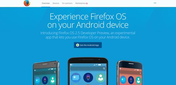 Mozilla fundazioak ez du jarraituko Firefox OS eskaintzen mugikorretan