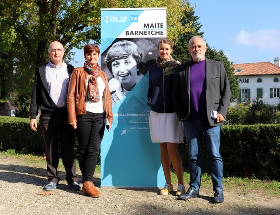 Maite Barnetxe (1941-1986) kazetariaren telebista emankizunak Uztaritzen ikusgai