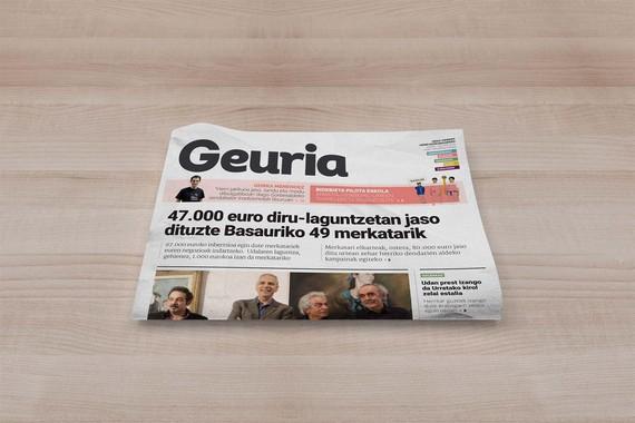 Hego Uribeko beste bost udalerrik bultzatuko dute 'Geuria' euskarazko herri komunikabidea