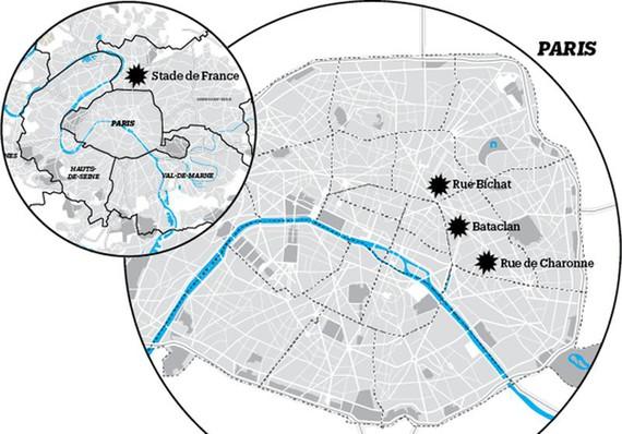 Parisko erasoak: zer dakigun oraingoz