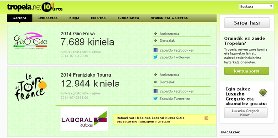 Tropela.net – Frantziako Tourra 2014 porra
