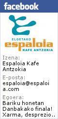 Elgetako Espaloia kafe antzokiak 10 urte beteko ditu, eta talde kudeatzaileak utzi egingo du