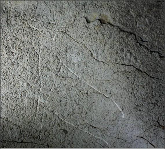 Paleolitoko grabatuak aurkitu dituzte Ekainetik hurbil dagoen Erlaitz kobazuloan