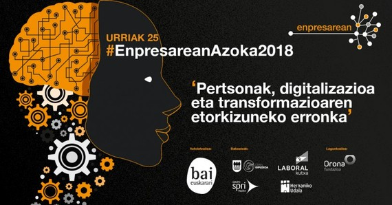 """""""Pertsonak, digitalizazioa eta transformazioaren etorkizuneko erronka"""" Enpresarean azoka, urriaren 25ean"""