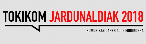 Tokikom jardunaldia: kazetaritza mugikorrekin, eta beste gai batzuk