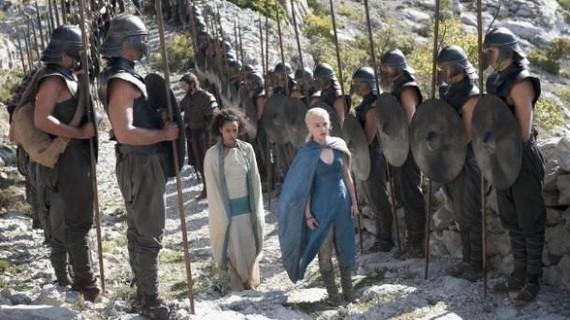 'Game of Thrones' Euskal Herrian filmatzea aztertzen ari dira