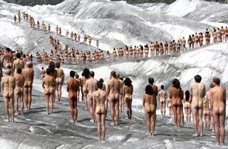 The Naked World of Spencer Tunick