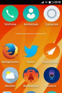 Firefox OS euskaratu du Librezalek