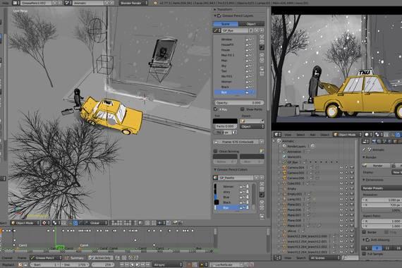 Blender, 3D animazioak garatzeko software libreko tresnak 25 urte bete ditu