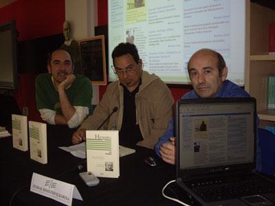 Albistea: EIEren web orri berria, Literatur Agente