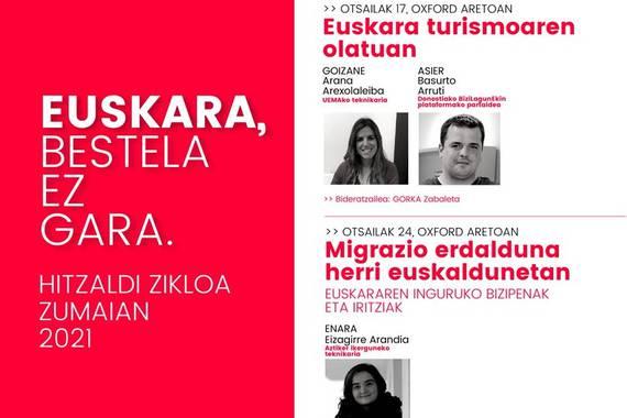 """""""Euskara, bestela ez gara"""", 2021ean ere Zumaian"""