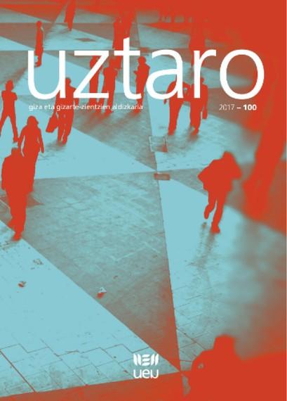 UZTARO giza eta gizarte zientzien aldizkaria 100. zenbakira iritsi da: zatoz ospatzera!