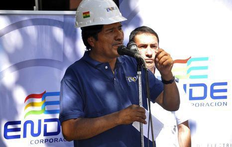 Iberdrolaren lau filial espropiatuko ditu Boliviako Gobernuak