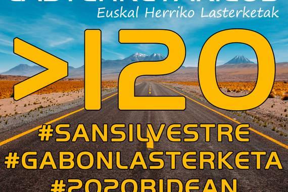 125! Bai 125! Euskal Herriko San Silbestre eta Gabon Zahar lasterketa guztiak lasterketak.eus atarian.