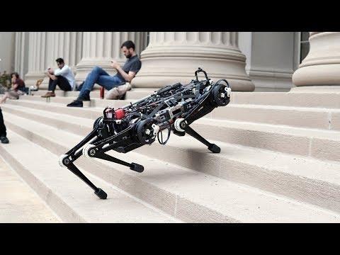 """Cheetah 3 robot """"itsua"""" izugarri abila da"""