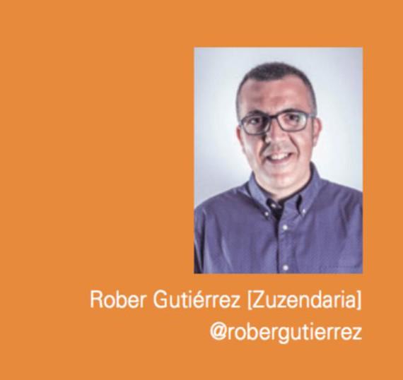 Ekonomiaren suspertzea eta euskararen sendotzea (Rober Gutierrezek)