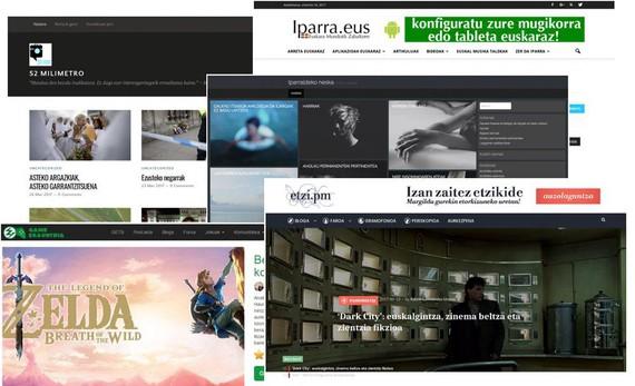 'Etzi.pm', 'Iparraldeko Neska', 'Game Erauntsia' eta 'Iparra', aurtengo Blogetan! lehiaketako irabazleak