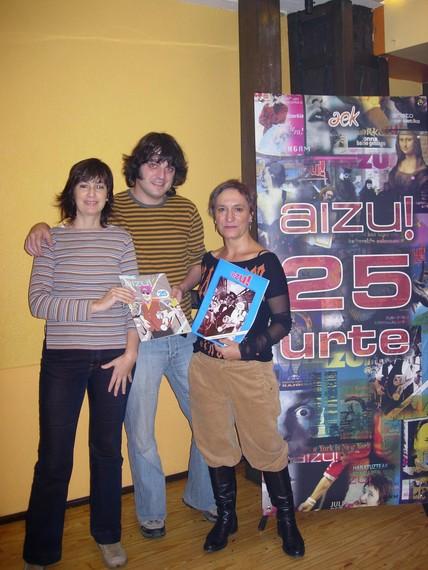 AIZU! aldizkaria: 25 urte eta ale berezia