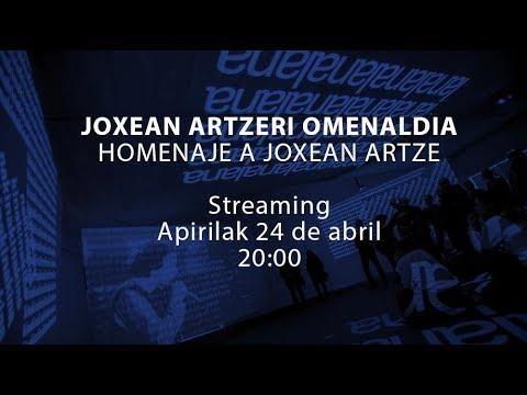 Joxean Artzeri omenaldia San Telmo museoan