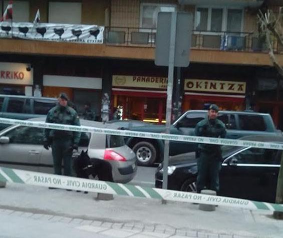 Asier Gonzalez santutxuarra atxilotu eta inkomunikatu du Guardia Zibilak