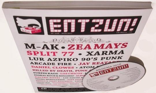 Entzun! disko-liburua argitaratu dute