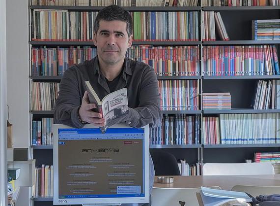 """Mikel Elorza (@Armiarma): """"Egitasmo honek duen dimentsioa ez dator bat daukan laguntzarekin"""""""