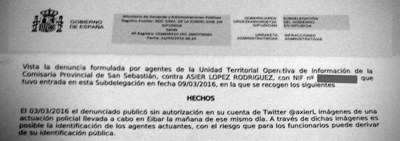 Informatzeagatik ARGIA zigortu du Espainiako Gobernuak, Mozal Legea baliatuz