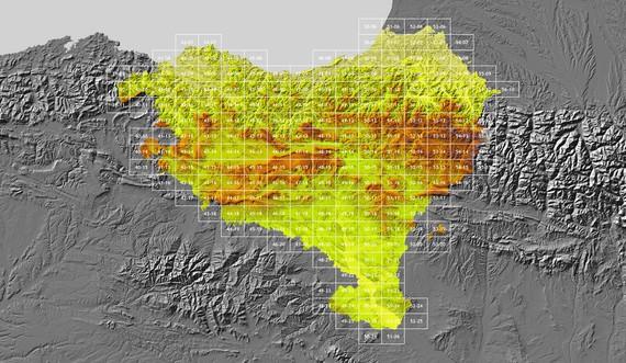 Euskal Herriko lehen mapa digital librea