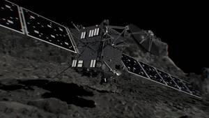 Rosettaren azken agurra, gaur eguerdian