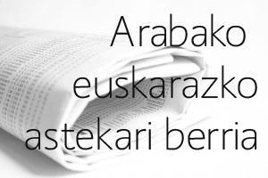 ALEA izango da Arabako euskarazko astekari berriaren izena