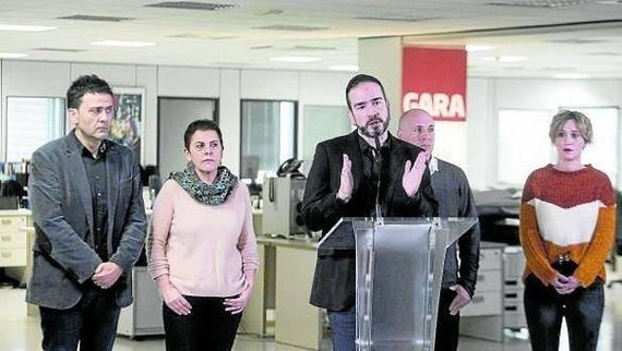 """Iñaki Soto (GARA): """"Euskal komunikabide independenteak suntsitzea izan da helburua hasieratik"""""""