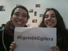 Euskaraz bizi direnen esperientziak jarraitzeko #EgotetikEgitera traola zabaldu du EHEk