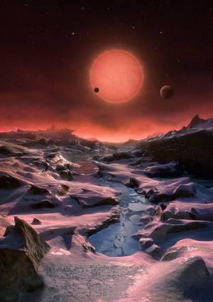 Bizigarriak izan daitezkeen hiru planeta aurkitu dituzte Eguzkitik gertu