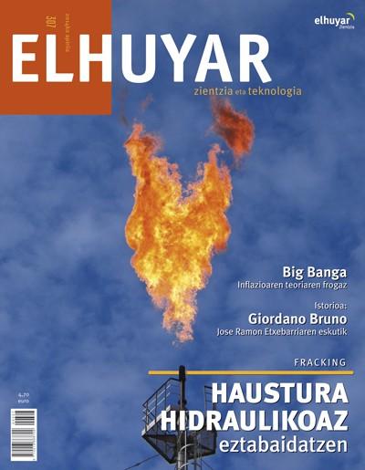 Fracking edo haustura hidraulikoari buruzko eztabaida Elhuyar aldizkarian