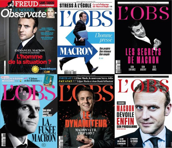 Frantziako presidentzialak Hegoaldean azalduta