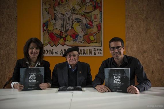 Gogora institutuak 'Memoriak' sortako 1. liburua kaleratu du, Luis Ortiz Alfauri buruzkoa