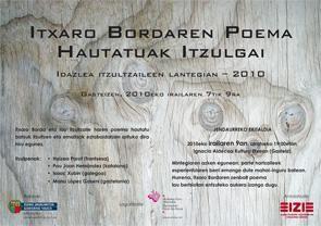 Idazlea itzultzaileen lantegian - 2010