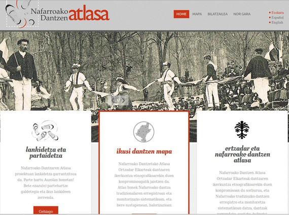 Nafarroako dantza tradizionalaren inbentarioa publikatu du Ortzadarrek sarean