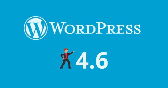 WordPress 4.6 kalean dago, oraingoan ere euskaraz hasieratik