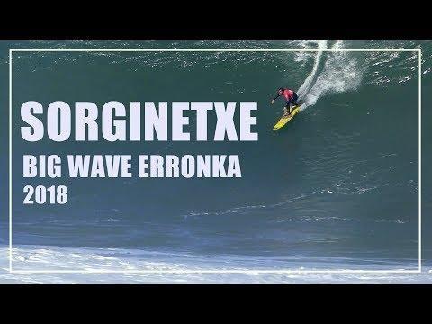 Olatu handien surf txapelketa Deban