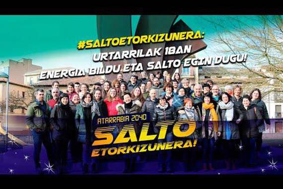 """""""Salto etorkizunera!"""", Atarrabiako euskalgintzaren dinamika"""