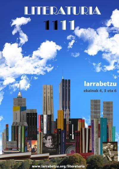 Literaturia, euskal literaturaren plaza Larrabetzun