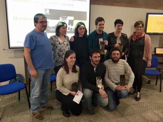 Blogetan! Euskal blogarien bigarren topaketa ospatu da Euskararen Etxean eta Blogetan! blog izarren bila lehiaketako bigarren edizioko sariak banatu ditugu